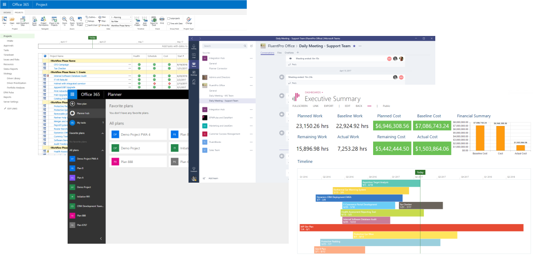 Microsoft Project Online - Office 365 Planner Integration