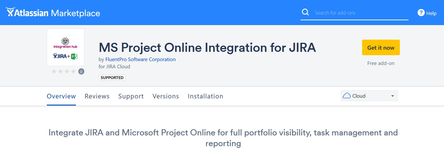 Project Online - Atlassian JIRA Integration App