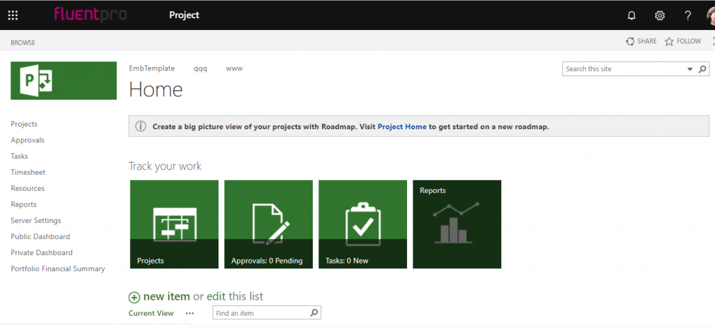 microsoft project for web overview