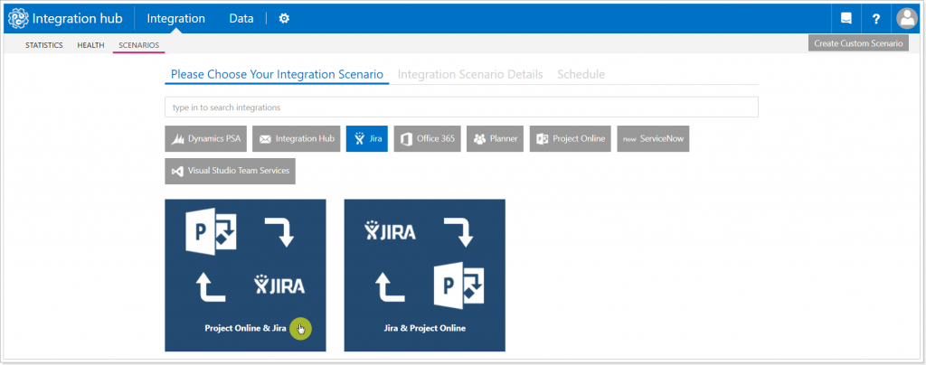 Integrating Project Online and Jira Software